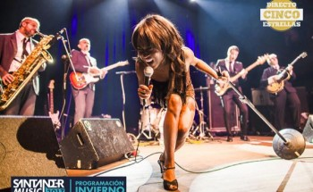 The Excitements enl a sala BNS de Santander, Cantabria