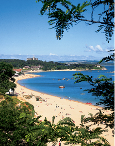 beaches at Cantabria
